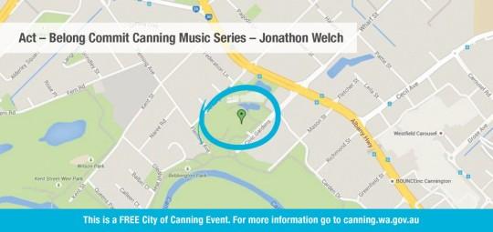 City of Canning Event Calendar 2015 - Map