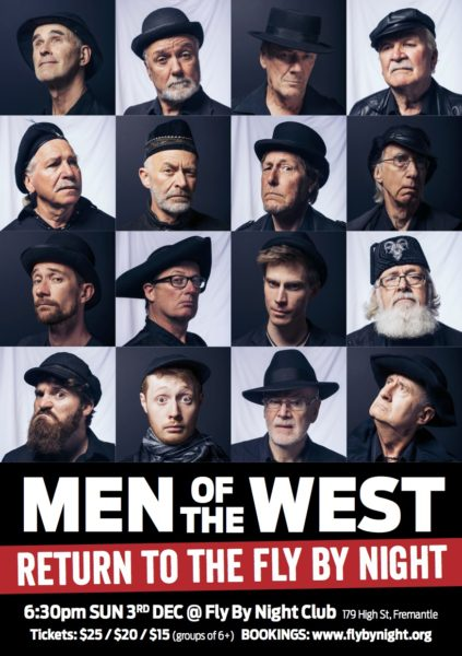 Men of the West Return to the Fly By Night