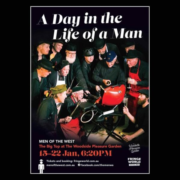 Poster for A Day in the Life of a Man by MOTW at FRINGE 2021